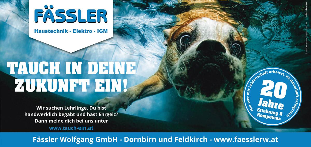 Fässler Wolfgang GmbH - Lehre, Lehrberuf, Vorarlberg