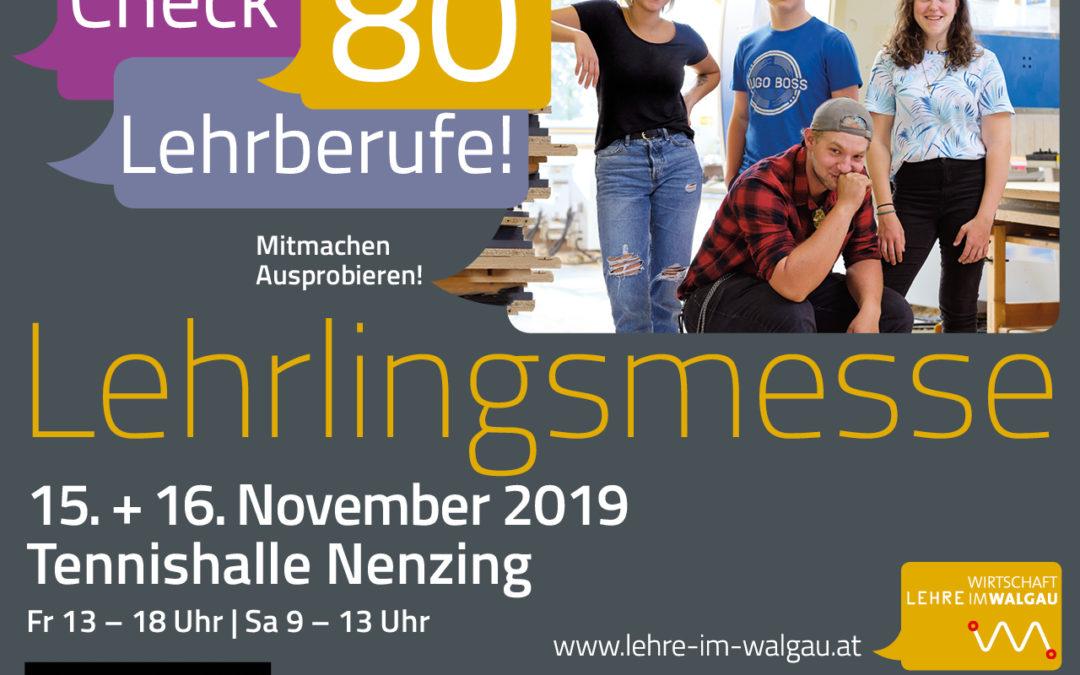 Lehrlingsmesse 2019 im Walgau