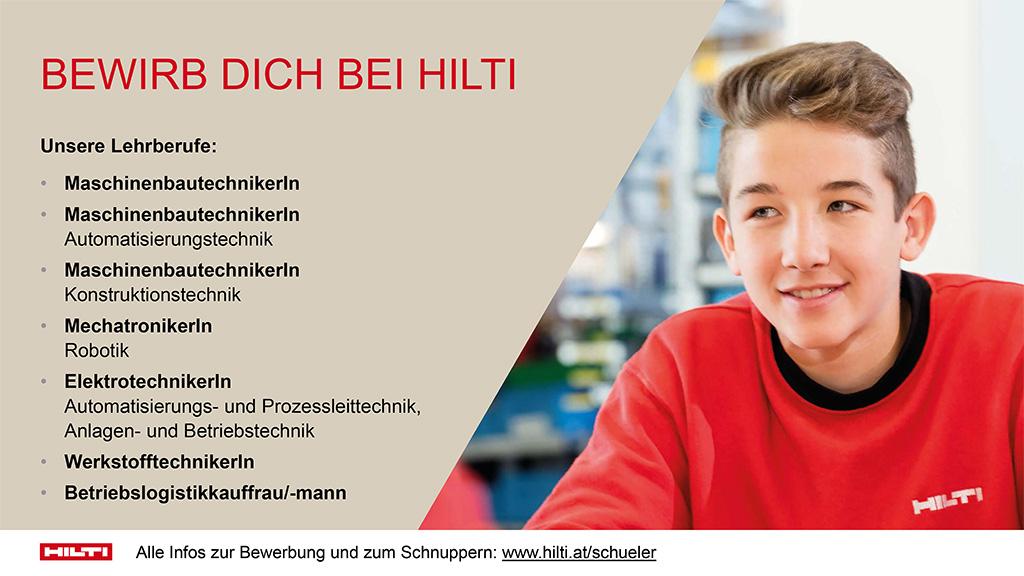 lehre24.at - Hilti AG