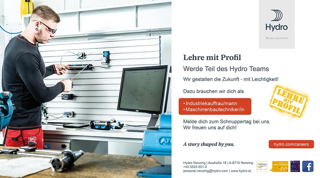 lehre24.at - Hydro Extrusion Nenzing GmbH