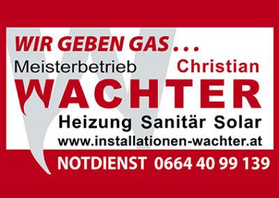 Christian Wachter – Installationen